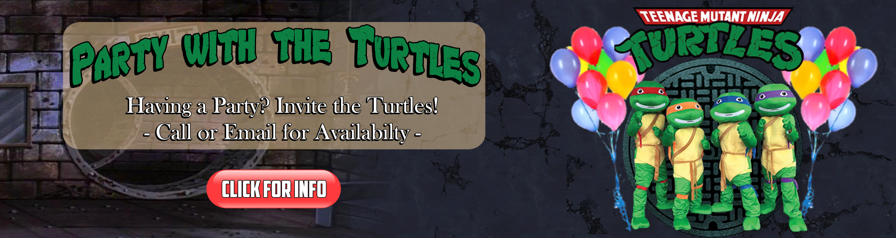 Party with the Turtles